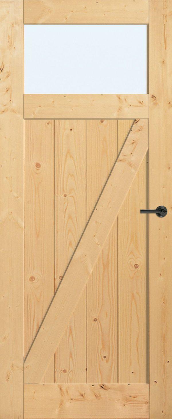 BRZ22-420_links_grenen_HR-Deur-met-raam